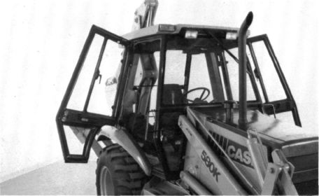 Case 580K Backhoe Specifications - Page 25